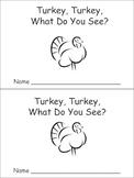 Turkey, Turkey Emergent Reader Preschool Kindergarten Than