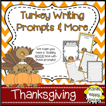 Turkey Writing Prompts & More