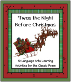 'Twas the Night Before Christmas Reading and Language Activities