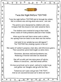 Twas the Night Before Standardized Testing Poem!