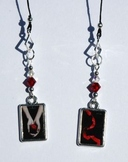 Twilight Saga Inspired Beaded Bookmark