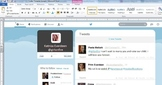 Twitter Page Template For Any Content Area