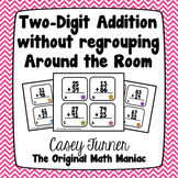 Two Digit Addition Without Regrouping Around the Room