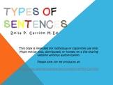 Type of Sentences 3-5