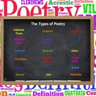 Types of Poetry Prezi & Organizers