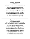 Types of Sentences Song