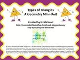 Types of Triangles Mini Unit