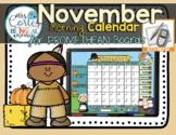 ACTIVBOARD Calendar Math- November (English)