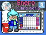 UPDATED!! SMARTBOARD Calendar Math-Enero (Spanish)