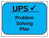 UPS check Math Strategy Posters
