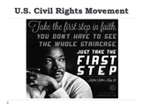 US CIVIL RIGHTS MOVEMENT POWER POINT