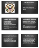 US Citizenship: Great Seal & Amendments