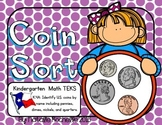 U.S. Coin Identification (TEKS): Penny, Nickel, Dime, and Quarter
