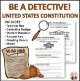 U.S. Constitution Detectives Activity Project Common Core