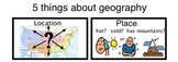 US Geography- Social Studies -- Differentiated for Special