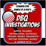 US History DBQ Common Core Activity Bundle