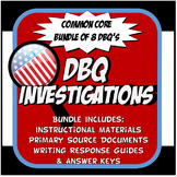US History DBQ Common Core Activity Bundle