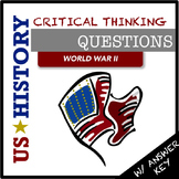 US History Questions: World War II