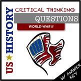 US History Questions: World War II