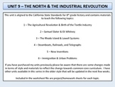 U.S. History - The North & Industrial Revolution Unit - Fa