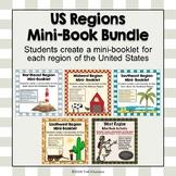 U.S. Regions Mini Booklets - All Six Regions Printable - I