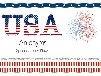 USA Antonyms