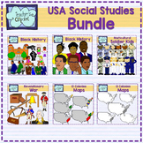 USA Clip art Bundle (Social Studies)