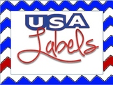 USA Labels