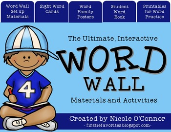 INTERACTIVE WORD WALL MATERIALS