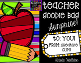 Ultimate Teacher Goodie Bag Surprise {Creative Clips Digit