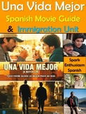 Una Vida Mejor (A Better Life) Spanish Movie Packet with I