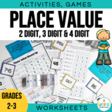 Understanding Place Value - games, activities and worksheets