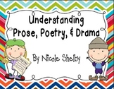 Understanding Prose, Poetry, and Drama Activities to addre