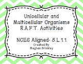 Unicellular and Multicellular Organism RAFT-NCES Aligned