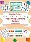 Unifix Cubes Print & Play Patterning Learning Centers