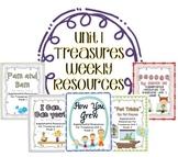 Unit 1 Bundle Pack- Supplemental Resources for Treasures F