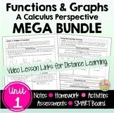 Functions and Graphs (Unit 1) Bundle