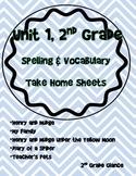 Unit 1 Spelling 2nd Grade