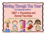 Unit 1- Writing Through The Year for Pre-Writers (Procedur