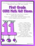 First Grade CORE Math Unit 11