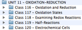Unit 11 - Oxidation-Reduction
