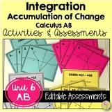 Calculus: (Unit 4) Integration Review & Assessment Bundle