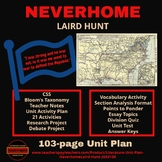 Literature - Neverhome(Laird Hunt) Unit Plan