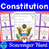 United States Constitution Scavenger Hunt