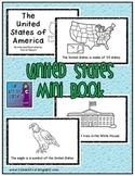 United States of America Mini Book