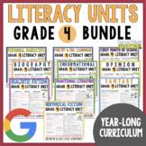 Units of Study Bundle: Grade 4 {10 Months of Reading & Wri