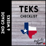 2nd Grade TEKS Checklist - 2014-15 (6 Week Checks)