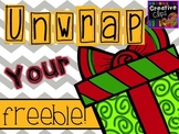 Unwrap your FREEBIE! {Creative Clips Digital Clipart}