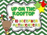 Up on the Rooftop 10 Math Centers