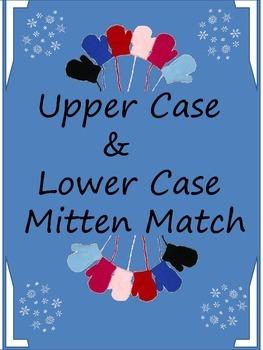 Upper Case & Lower Case Mitten Match